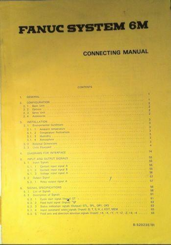 Fanuc 6m operation manual