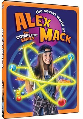 Secret World Of Alex Mack Complete Series  Dvd 6 Disc