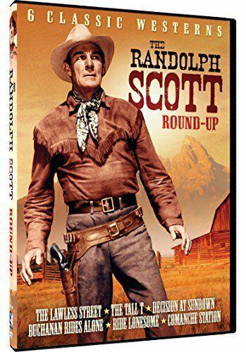 The Randolph Scott Roundup - 6 Classic Westerns