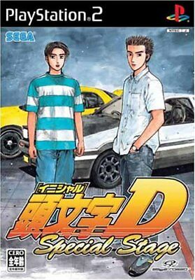 Sony Japan USED PS2 Initial D Special Stage SEGA GAMES