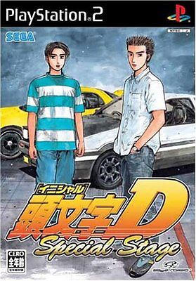 Used PS2 Initial D: Special Stage Import Japan