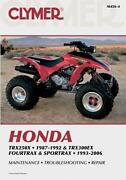 Honda TRX300 Manual