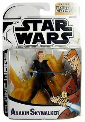 Star Wars Clone Wars Animated Anakin Skywalker (Hasbro, 2003)  - Clone Wars Anakin