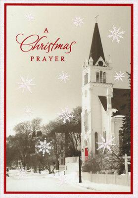 Church Photograph Religious Image Arts Christmas Card