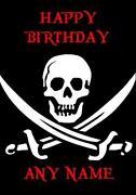 Skull Birthday Card