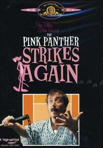 The Pink Panther Strikes Again dvd-mint condition