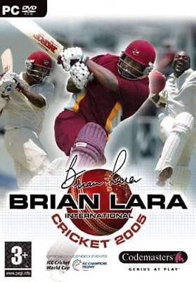 Brian Lara International Cricket 2005 (PC DVD Sports Game) New & Factory Sealed