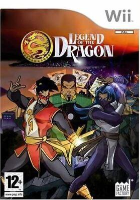 Leyenda De Dragon Nintendo Juego Wii