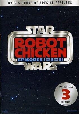 War Robot - Robot Chicken Star Wars:1-3 [New DVD] Gift Set, Back To Back Packaging