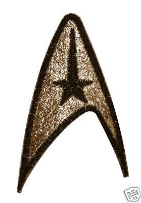 Star Trek TOS Command insignia patch