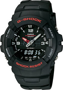 Casio - Men's G-Shock Classic Analog/Digital Watch - Black