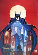 Batman Lithograph