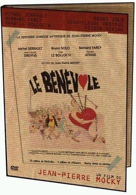 """MICHEL SERRAULT- BRUNO SOLO  """" LE BENEVOLE """" DE JEAN PIERRE MOCKY - DVD NEUF"""