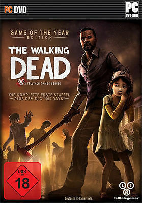 PC Spiel * The Walking Dead A Telltale Games Series Game of the Year Edition NEU The Walking Dead Game