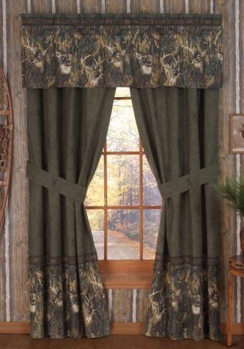 Deer Curtains Ebay