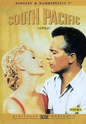 South Pacific  1958  New Sealed Dvd Rossano Brazzi