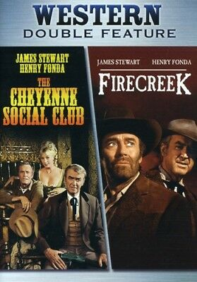 The Cheyenne Social Club / Firecreek [New DVD] Dubbed, Subtitled, Widescreen