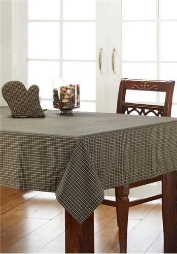 Country Plaid Tablecloth Ebay