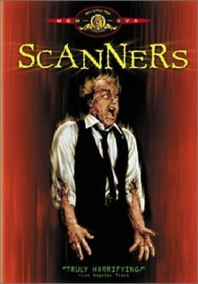 Scanners (1981) David Cronenberg DVD *NEW