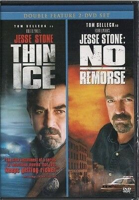 Jesse Stone Thin Ice   No Remorse New Sealed Dvd Tom Selleck Double Feature