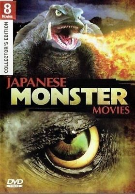 8 MOVIES- JAPANESE MONSTER- GAMMERA VS.- MONSTER X & OTHERS- - Halloween Documentary