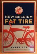 Fat Tire Sign