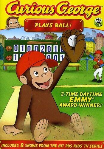 Curious George: Plays Ball! (2011, REGION 1 DVD New)