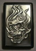 Skull Cigarette Case