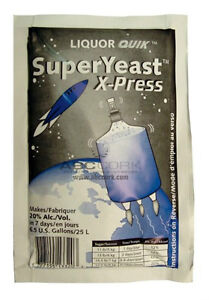 Super Yeast X- Press (Turbo Yeast)