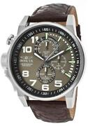 Invicta Mens Watch Brown