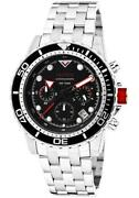 Red Dial Mens Watch