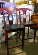 Used Wood Bar Stools