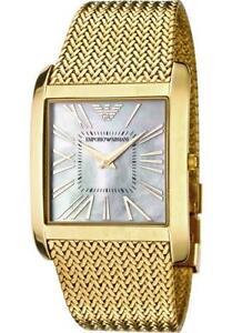 93dd5a0a220 Ladies Gold Armani Watches