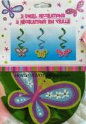 Butterfly Birthday Decorations