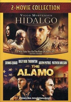 Hidalgo (2004) & Alamo (2004) [New DVD] 2 Pack