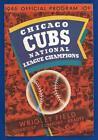Cubs Scorecard