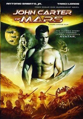 John Carter  Princess Of Mars Dvd Region 1