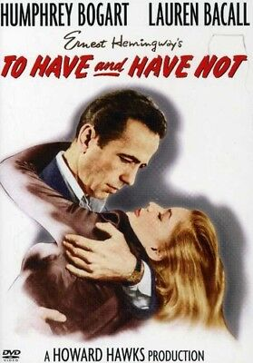 To Have and Have Not [New DVD] Black & White, Amaray Case, Subtitled,