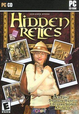 Computer Games - Hidden Relics Adrianna Stone PC Games Windows 10 8 7 XP Computer hidden object