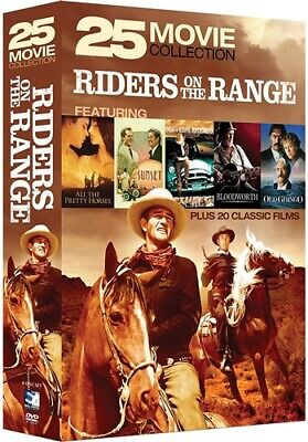 RIDERS ON THE RANGE 25 MOVIE COLLECTION New Sealed DVD