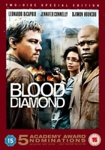 Blood Diamond DVD (2007) Leonardo DiCaprio