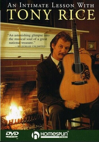 Intimate Lesson With Tony Rice (2010, DVD NEW)