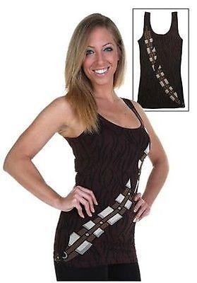 Original Star Wars I Am Chewbacca Junior Kostüm Tank Tunika Kleid S-XXL