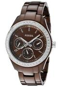 Womens Fossil Watch Brown