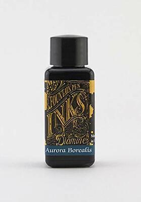 Diamine Fountain Pen Ink, Aurora Borealis, 30 mL (Aurora Fountain Pen Ink)