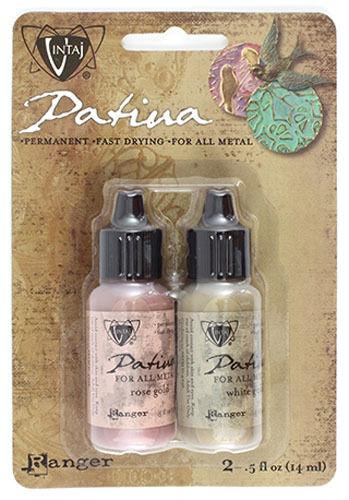Patina Paint Metal Paint for Jewelry Vintaj Patina Cherished Adornment Rose Gold