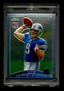 2009 Topps Chrome Matthew Stafford