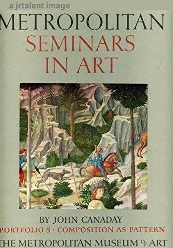 VINTAGE 1958 MOMA  METROPOLITAN SEMINARS IN ART  JOHN CANADAY PORTFOLIO 5 BOOK