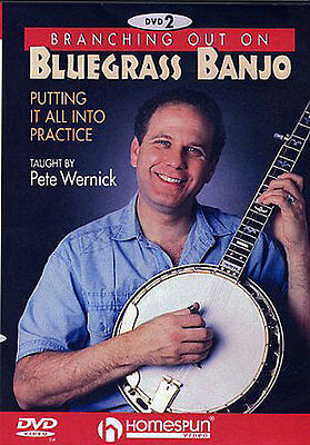 Branching Out On Bluegrass Banjo Tutor Lesson 2 DVD