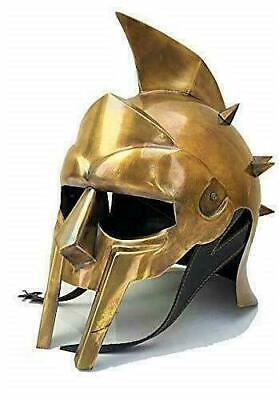 Griechischer Maximus Gladiator Helm Mittelalter Römische Rüstung Kostüm - Griechischen Helm Kostüme